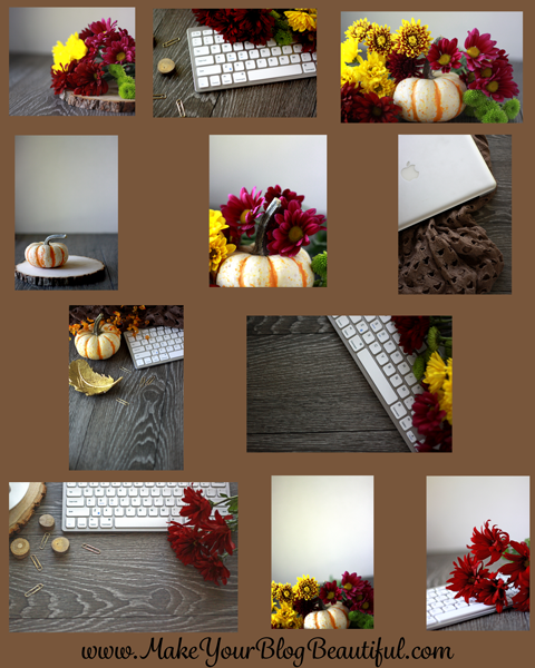 Beautiful natural light fall styled stock photography from www.makeyourblogbeautiful.com