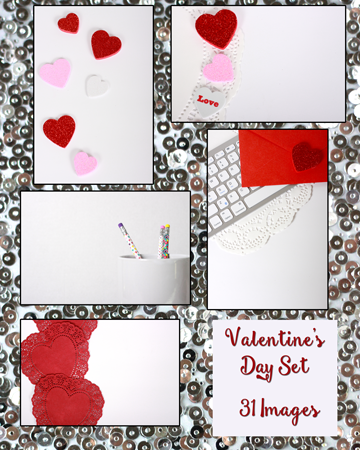 Styled stock photos for Valentine's day!