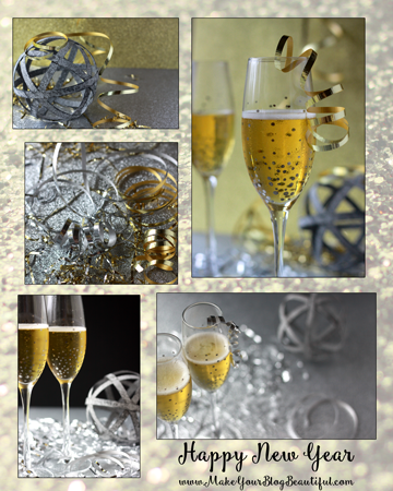 new year's eve styled stock photography from www.MakeYourBlogBeautiful.com