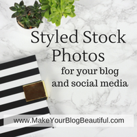 Styled stock photography for your blog and social media