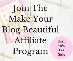 Make Your Blog Beautiful Affiliate Program