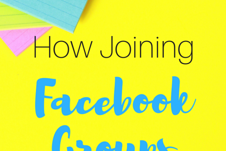 How Joining Facebook Groups Can Help Your Blog