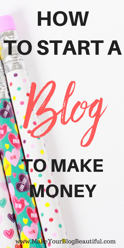 Ready to start a blog to make money! Blogging is a great way to be able to work from home AND make a great income. Check out my tutorial all about how to start a blog, and you'll be up and running in a few minutes!
